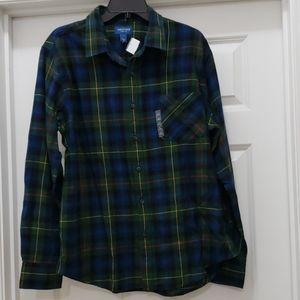 Arizona Jean Co. Men Casual Shirt Size L